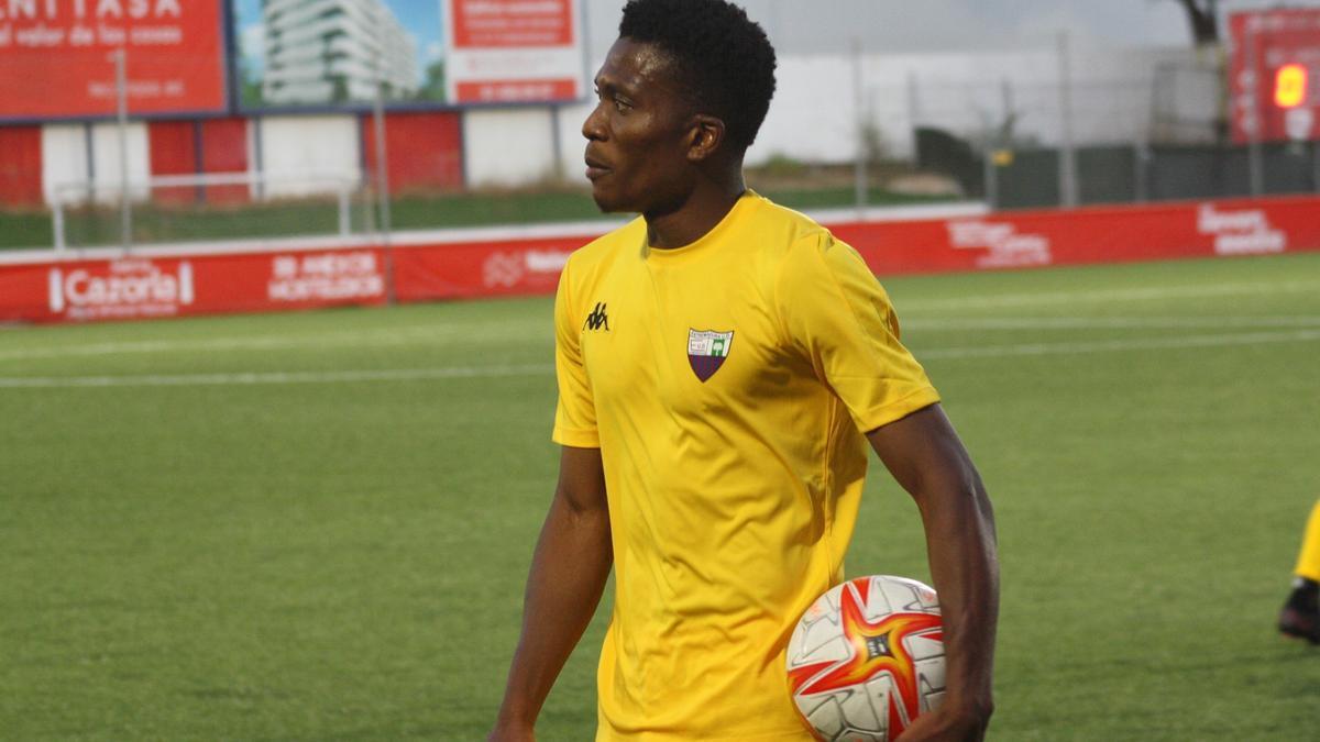 Emmanuel, jugador del Extremadura UD