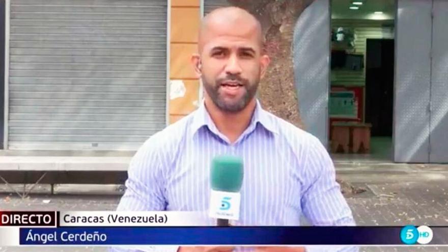 Muere Ángel Rafael Cerdeño, corresponsal de Telecinco en Venezuela, a los 38 años