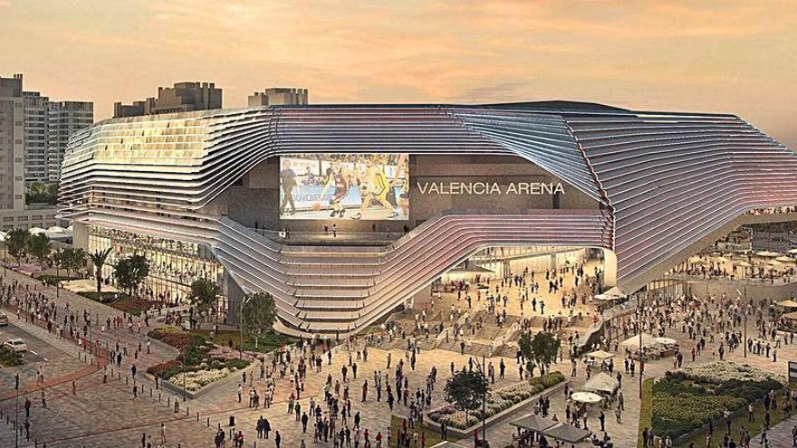 Aprobado el PGOU para el nuevo Valencia Arena