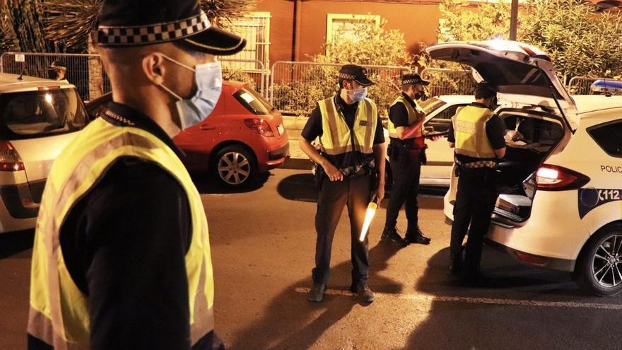 La noche no conoce límites: ocho fiestas en domicilios y 23 sancionados en Alicante