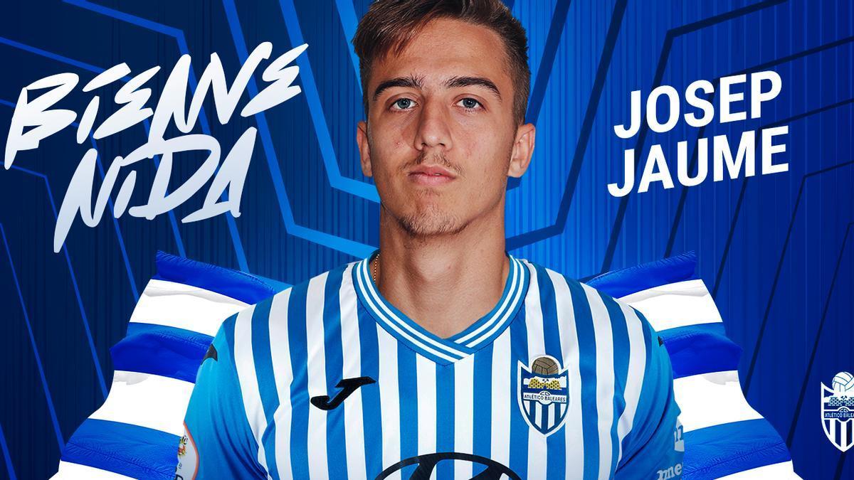 Josep Jaume es nuevo jugador del Atlético Baleares.