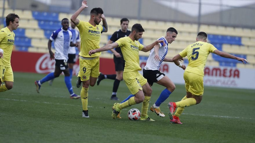 Villarreal B - Hércules: Las imágenes del partido