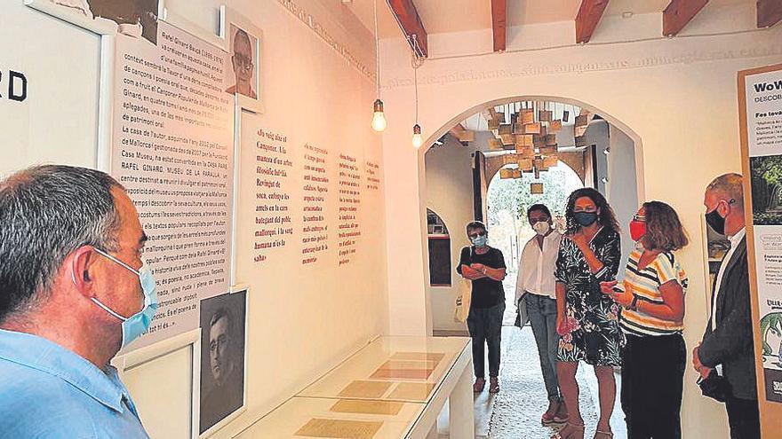 Cladera visita en Sant Joan la Casa Pare Ginard y se reúne con el equipo de gobierno