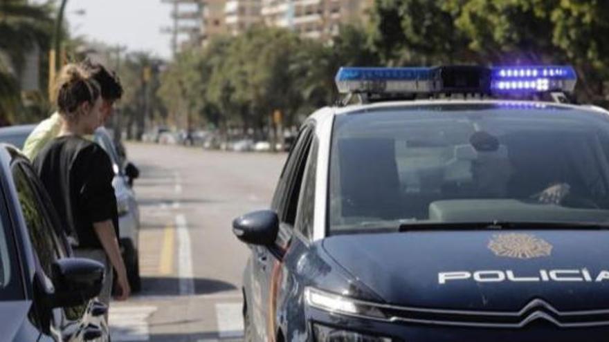 Detenido un hombre en Palma por no querer irse a su casa