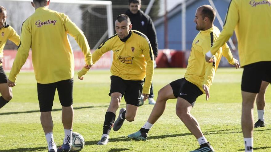 """Javi Fuego: """"Nadie en la plantilla del Sporting ha dado el nivel esperado"""""""