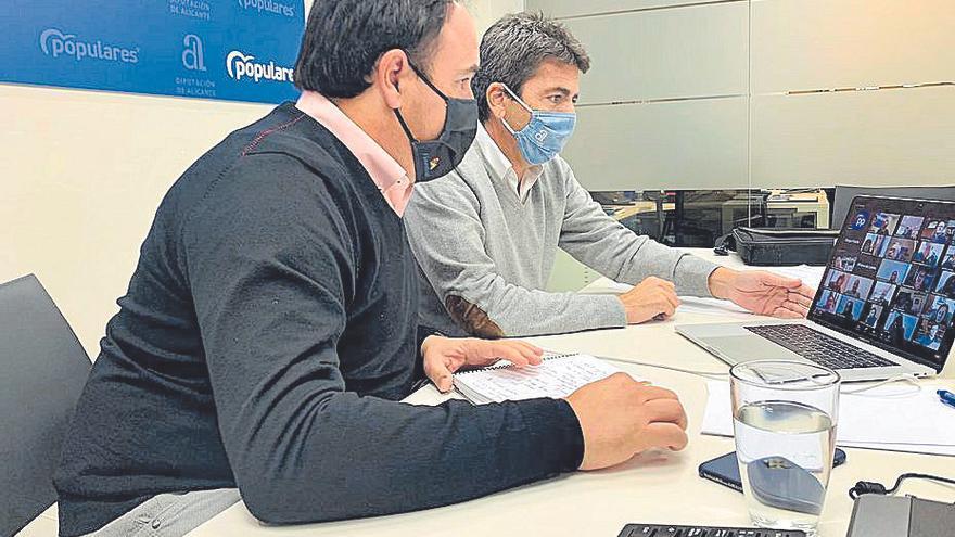 Carlos Mazón repesca a Angélica Such en la ejecutiva del PP de Alicante