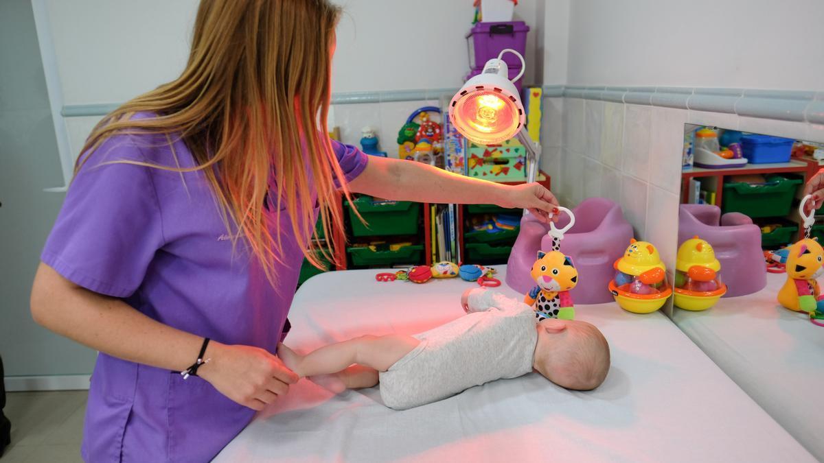 Apadis ofrece todo tipo de terapias desde edades tempranas en sus instalaciones.