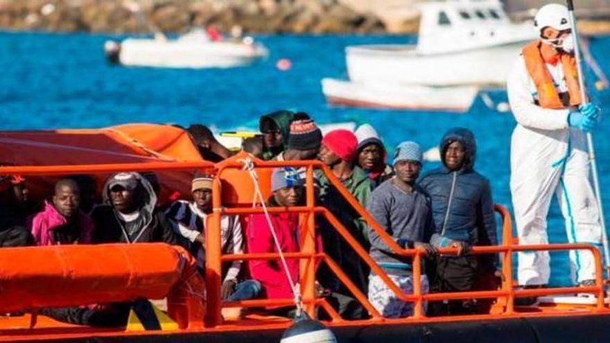Rescatados 182 inmigrantes en aguas de Gran Canaria y Fuerteventura