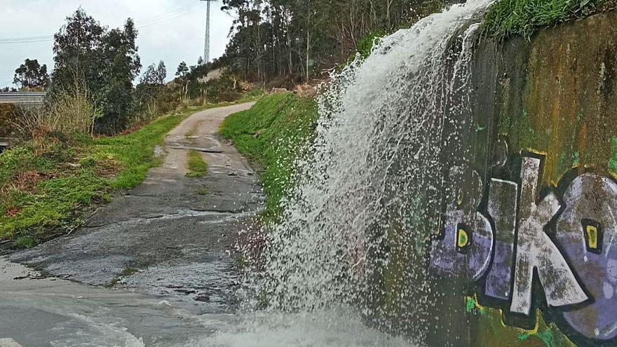 La catarata de Suevos