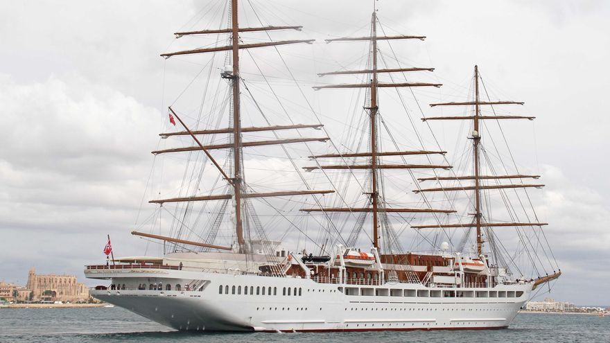 """Schiffstaufe der """"Sea Cloud Spirit"""" ohne die Königsschwester"""