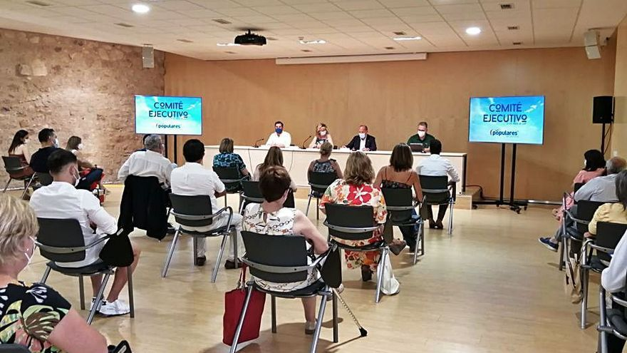 El PP de Zamora renueva al 40% de su comité ejecutivo provincial