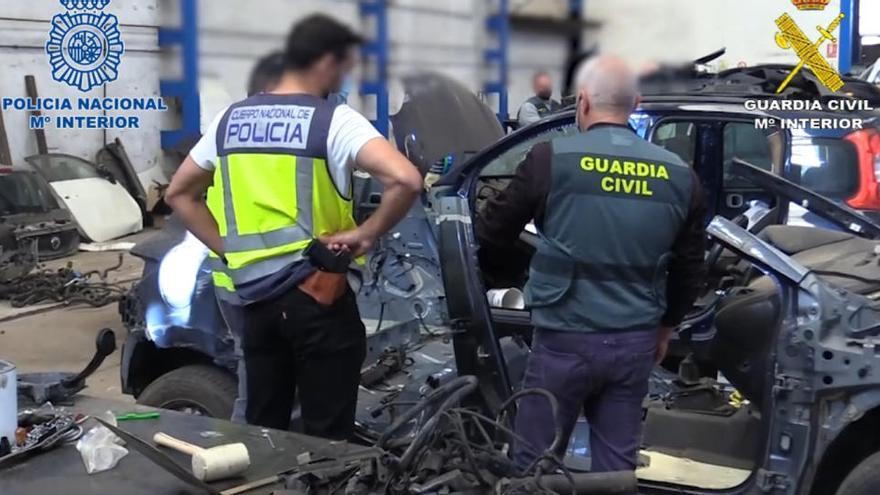 Internationale Autoschieber-Bande auf Mallorca hochgenommen