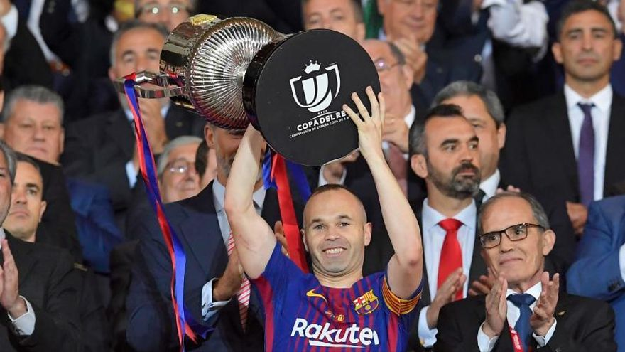 Los ocho dobletes del Barcelona