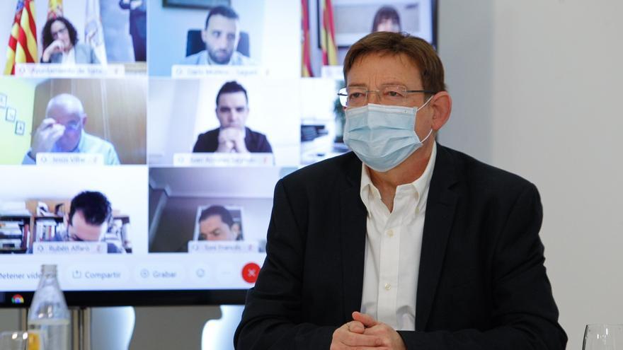La Generalitat prevé administrar 400.000 vacunas semanales a partir de abril