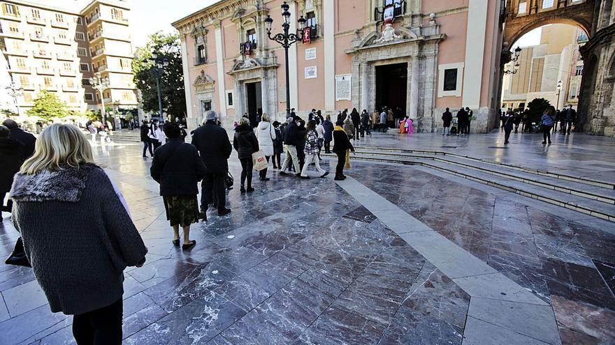 Devoción  por la Geperudeta en la Basílica