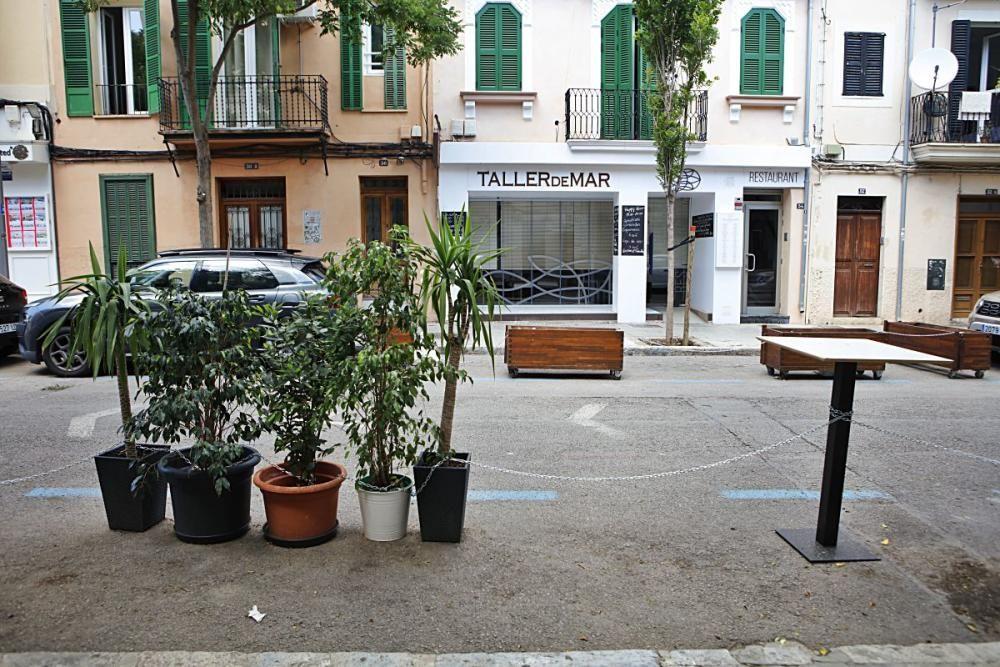 Außenbereiche statt Parkplätze