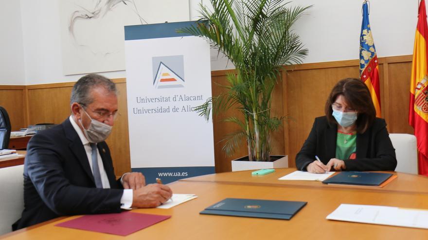 El Colegio Notarial y la UA crean la Cátedra de Derecho Notarial