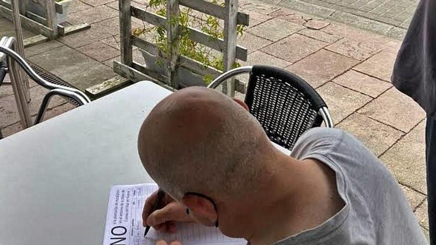 Llanes inicia una recogida de firmas contra la plantación de eucaliptos en Cuevas