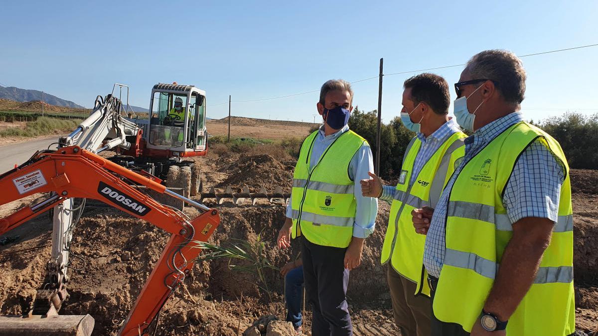 Mejoran el drenaje de la vía que une Gea y Truyols con la autovía del Mar Menor