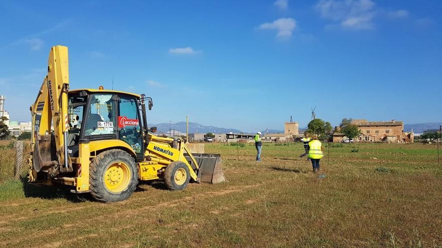 Comienzan los trabajos para la construcción del depósito que reducirá los vertidos