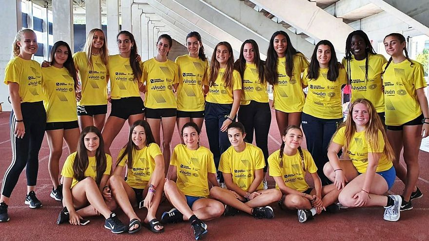 """Las cadetes del club """"groguet"""" repiten en el Nacional"""
