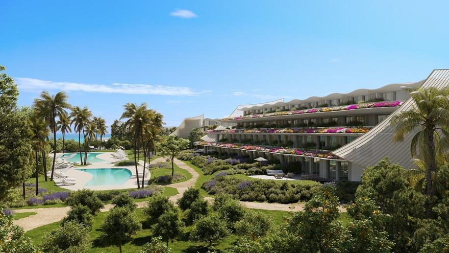 Así será el nuevo complejo de apartamentos de Delfin Natura en la Playa del Albir