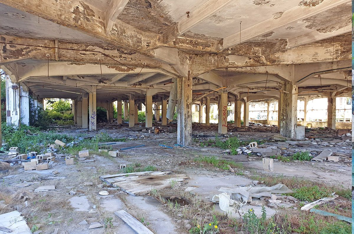 GEA, el ocaso de un imperio en ruinas