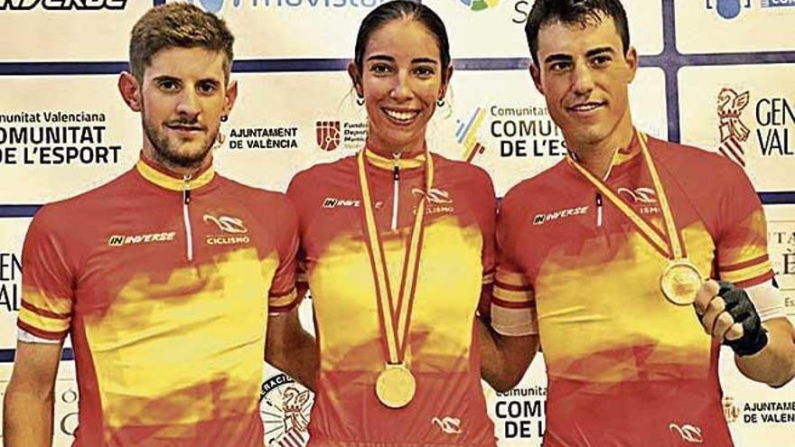 Albert Torres y Xavi Cañellas logran tres medallas de oro en los Campeonatos de España