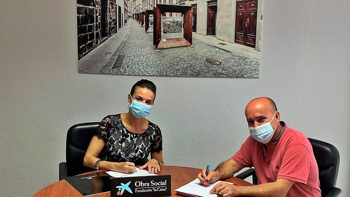 'la Caixa' y CaixaBank apoyam al Centro Insular de Ajedrez   E.D.