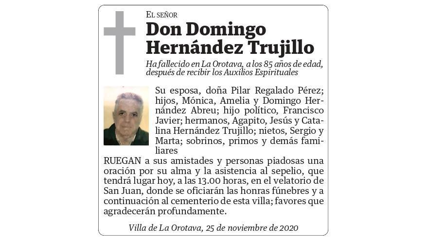 Domingo Hernández Trujillo