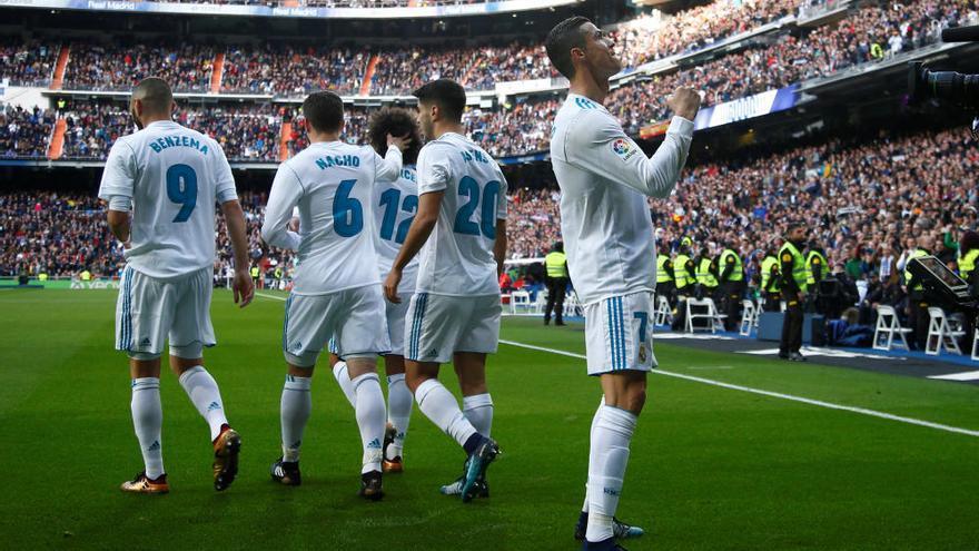 El Madrid goleja en 45 minuts