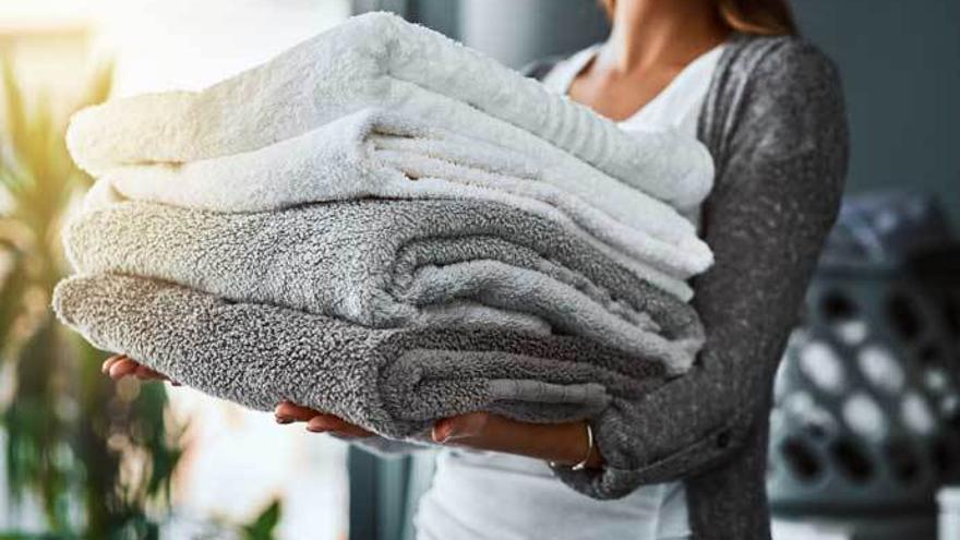 El truco definitivo para que tus toallas estén tan suaves como el primer día