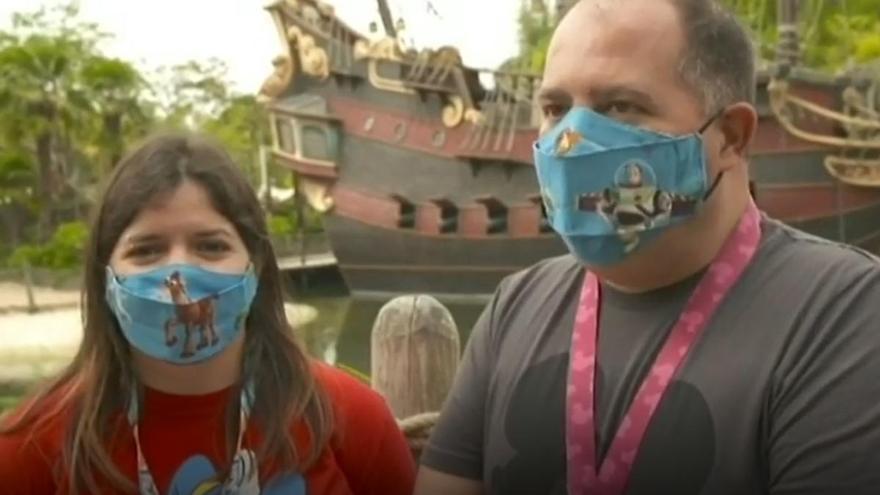 El zamorano Roberto Vizán vuelve a Disneyland París... por trigésimo tercera vez