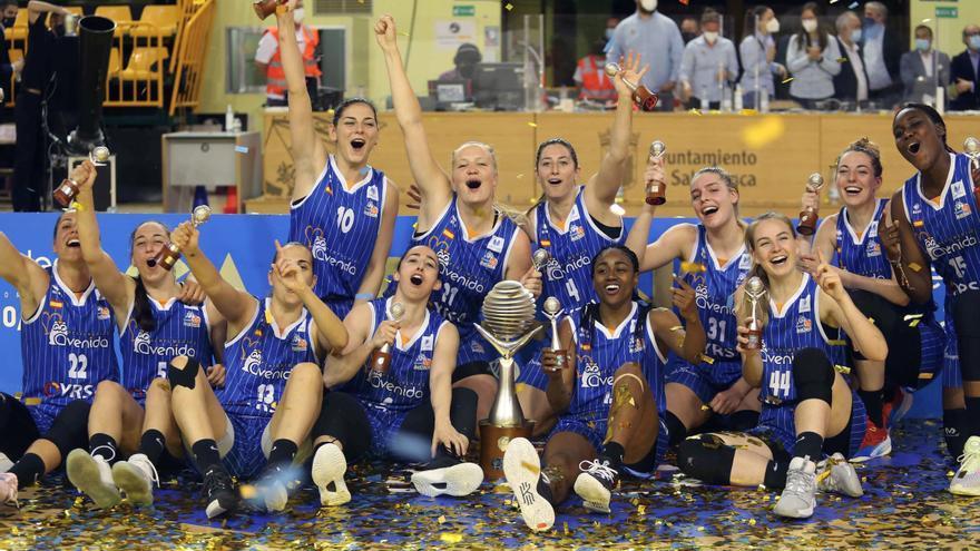 El Perfumerías Avenida conquista su séptima Liga Femenina de baloncesto