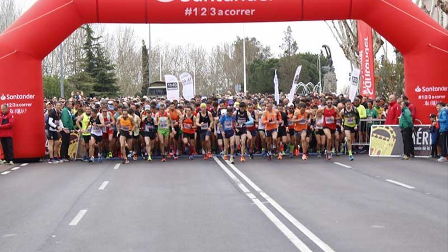 La Media Maratón ocasionará restricciones al tráfico en algunas calles
