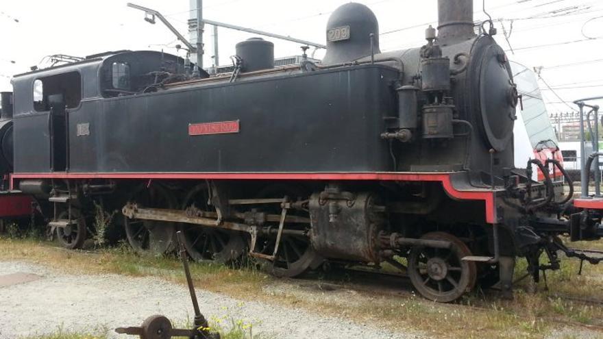 Ferrocarrils restaura màquines i vagons antics de la línia Llobregat-Anoia