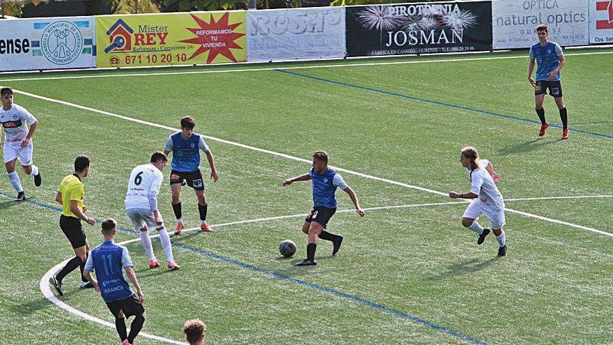 El Ourense CF vence con los goles de Borja y Casano