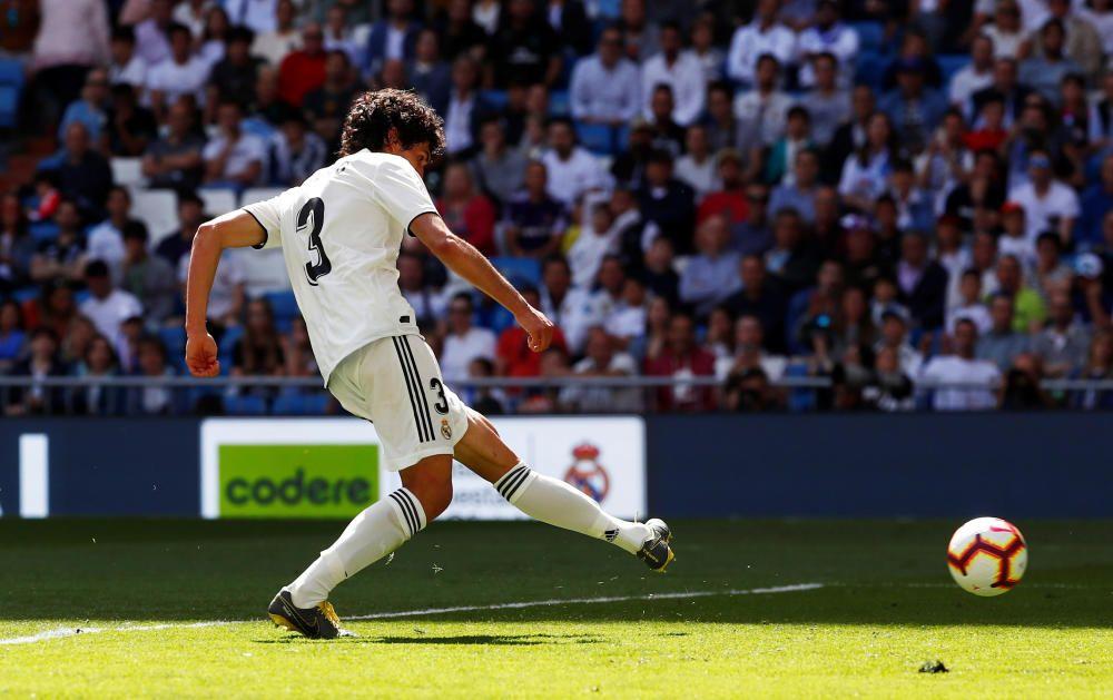 El Madrid se mide al Villarreal en el Bernabéu.