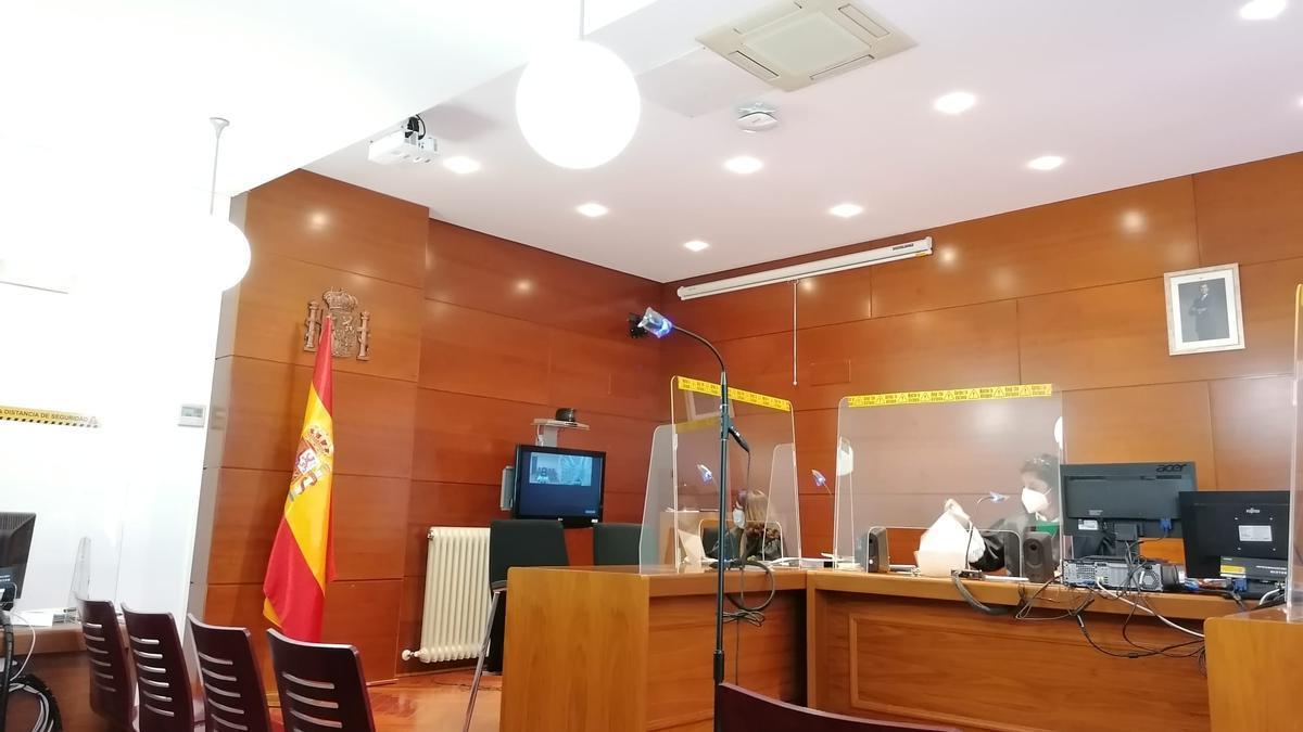 Juzgado de lo Penal durante un juicio