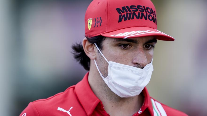 Sainz, tercero tras la descalificación de Vettel en Hungría