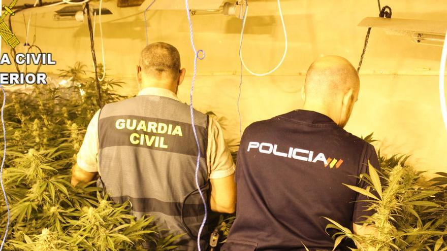 Detenidos dos agentes de la Guardia Civil acusados de robar hachís a unos narcos