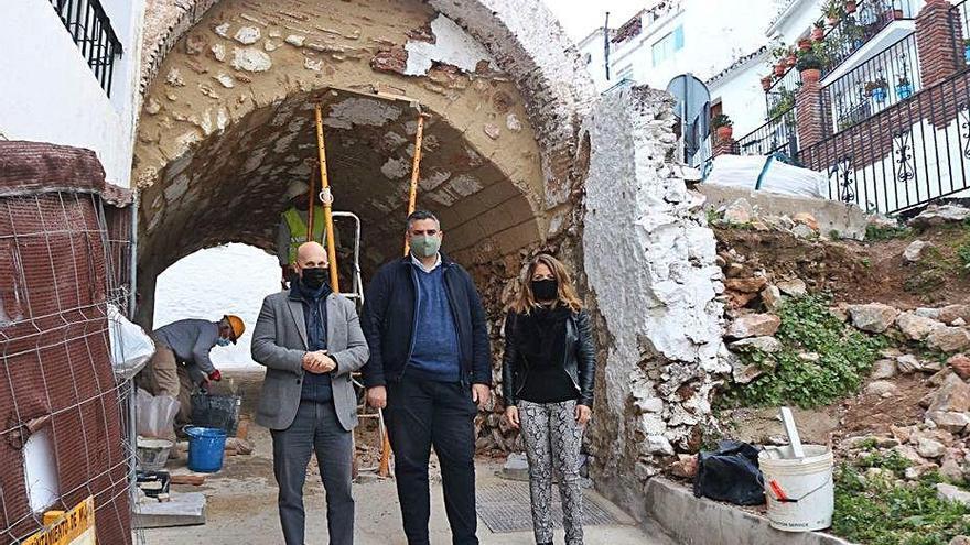 Mijas inicia las obras de rehabilitación de La Puente