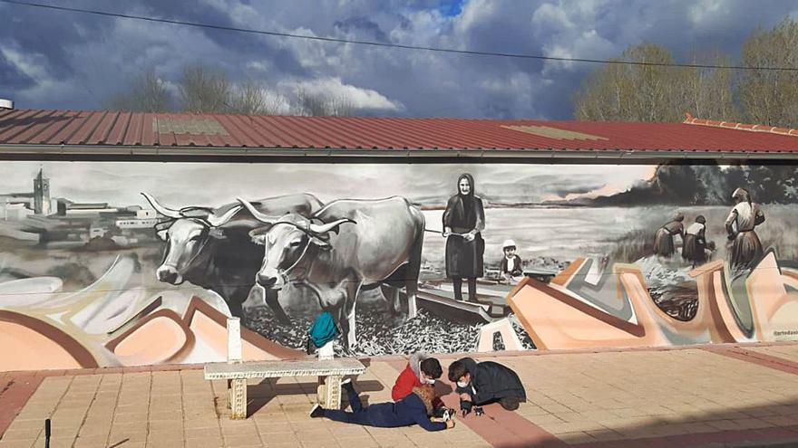 Este pueblo de Zamora rinde tributo a la mujer rural