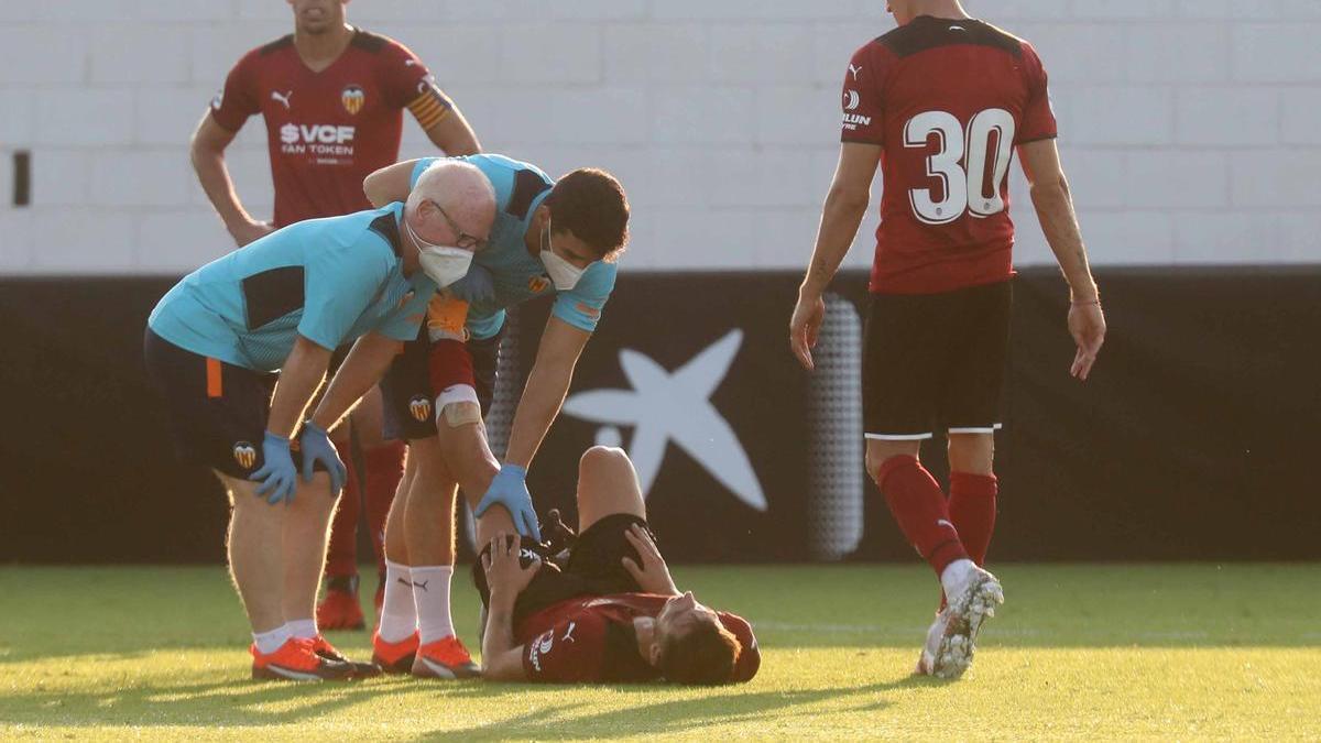 Vicente Esquerdo, lesionado