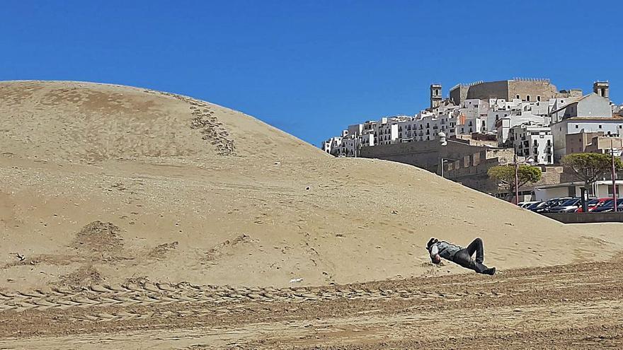 Costas eliminará la próxima semana la gran duna de la playa Sur de Peñíscola