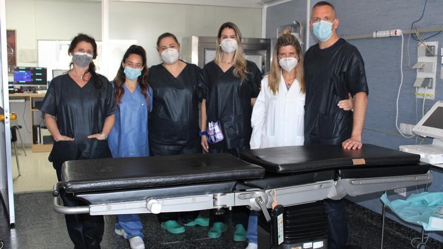 El Hospital de la Axarquía registra su primera donación de órganos a corazón parado en 2021