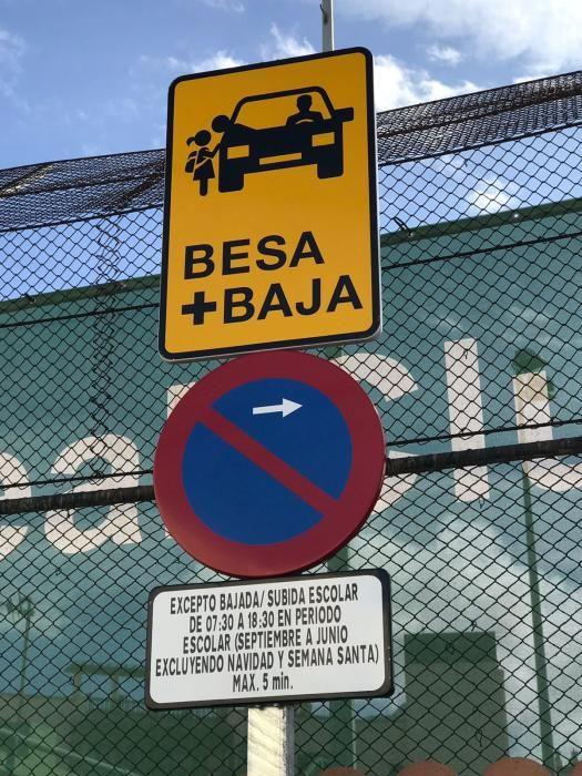 Estreno de la zona 'Besa y Baja' en Pío XII