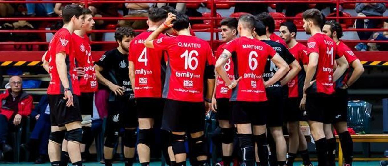 Los chicos del Xàtiva Voleibol logran superar a un gran CV Leganés por 3-2