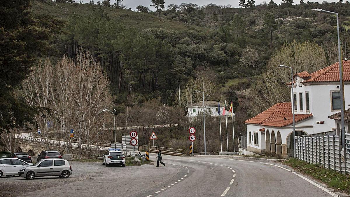 Paso de Quintanilla que conecta la provincia de Zamora con Portugal.