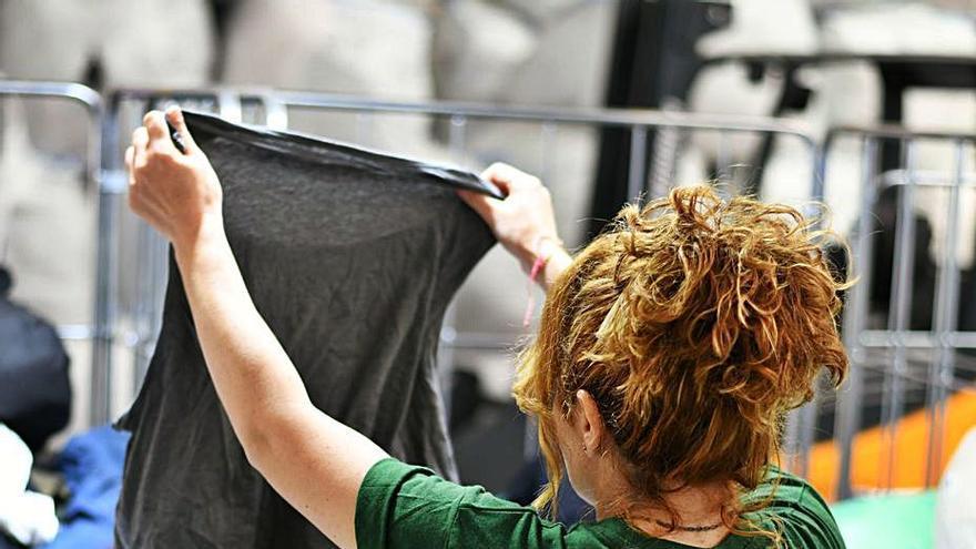 Humana recupera más de 10 toneladas de textil en Trasdeza